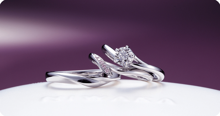 新潟 BROOCH NIWAKA 俄 和 婚約指輪