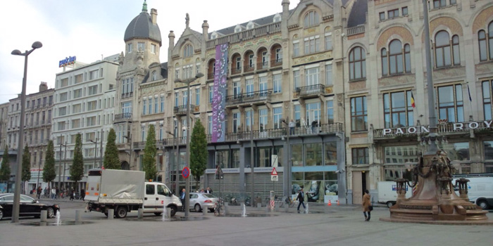 Antwerpen(アントワープ)はベルギー北部に位置しています
