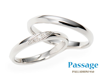 新潟結婚指輪・婚約Passage DR113-114
