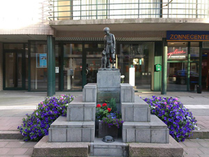 ネロとパトラッシュの銅像
