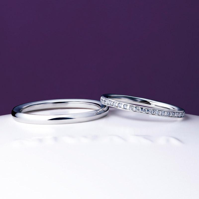 新潟で結婚する方におすすめのシンプルで人気のにわかの結婚指輪