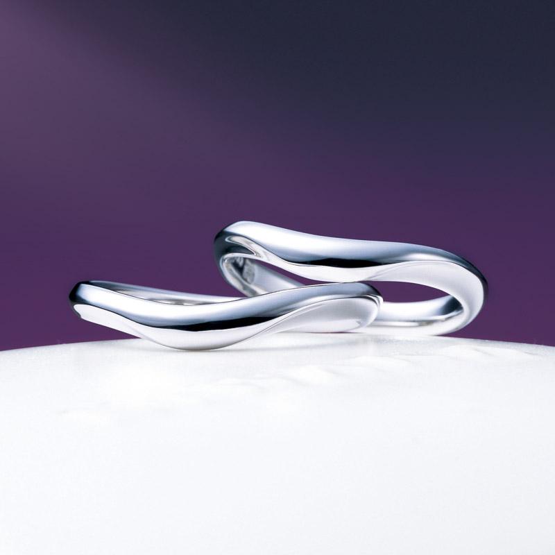 新潟結婚指輪NIWAKA俄ニワカプラチナBROOCH