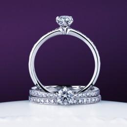 niwaka 俄NIWAKAかれんセットリング重ね着けが出来てとってもァわいいい婚約指輪結婚指輪京都発信で日本の職人が1つ1つ丁寧に仕上げていきますクオリティの高いダイヤモンドは美しさ最上級着け心地もとってもいいです