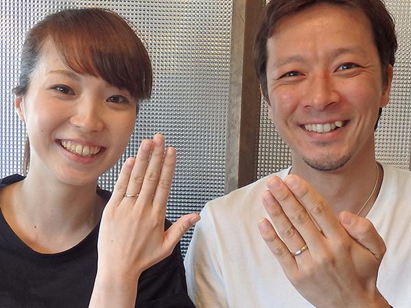 大輔様&智姫様 | 新潟の婚約指輪・結婚指輪|BROOCH(ブローチ)