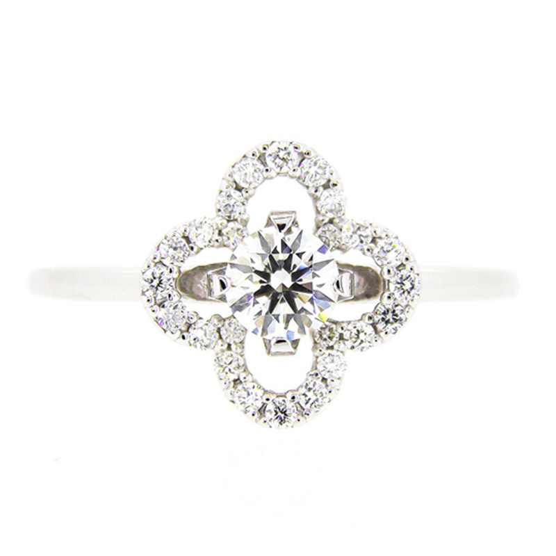 "2014-15limited model ""grand-place"" diamond surround ring"