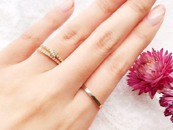 憧れのハーフエタニティリングを結婚指輪に。infinitylove(インフィニティ・ラブ)should(シュッド)