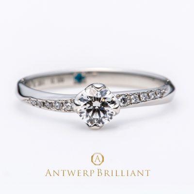 新潟でダイヤモンドがキレイな婚約指輪をお探しの方は新潟のBROOCH