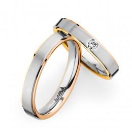3色のコンビネーションカラーがかっこいい海外ブランド結婚指輪ならクリスチャンバウアーがおすすめ