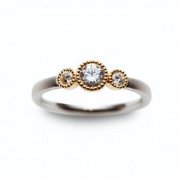 アンティーク風な結婚指輪