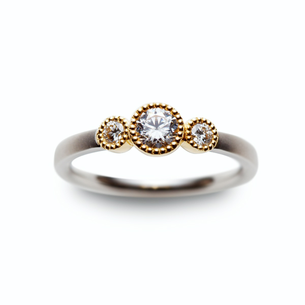 Engagement Ring BLOOM ~花~