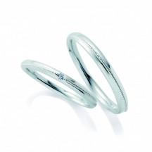 新潟市 BROOCH カフェリング 可愛い 結婚指輪