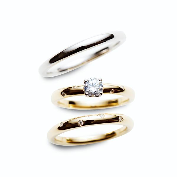 アンティークなご婚約&ご結婚指輪をお探しならRosettE 新潟BROOCHへ