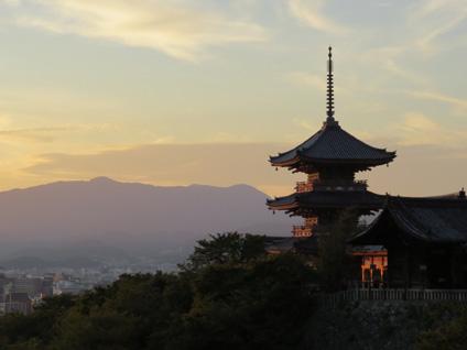 俄の京都の風景