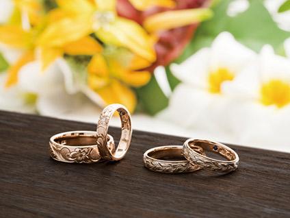 新潟で人気の結婚指輪と婚約指輪 BROOCH Makana(マカナ)| ハワイアンジュエリーMAKANAの結婚指輪は太い方がかっこいい?| BROOCHサイト内 オシャレジュエリーMAKANAのブランドページのご紹介