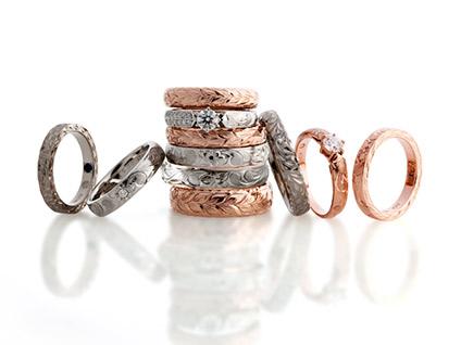ハワイアンジュエリー、マカナの結婚指輪なら新潟のBROOCHで