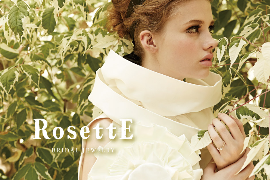 新潟結婚指輪婚約指輪人気クラシックアンティーク可愛いシンプルカッコいいロゼットRosettE