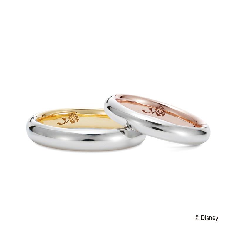 ディズニー美女と野獣好きの方にピッタリオススメのケイウノK.unoのマリッジリング結婚指輪