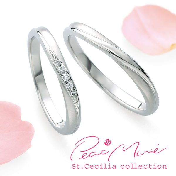 鍛造 かわいい 結婚指輪