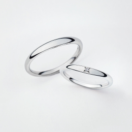 新潟結婚指輪婚約指輪カワイイトレンドプラチナ