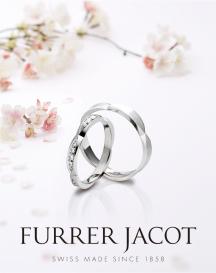 新潟で人気の結婚指輪フラージャコーサクラは春に記念日や入籍を迎える花嫁にオススメです