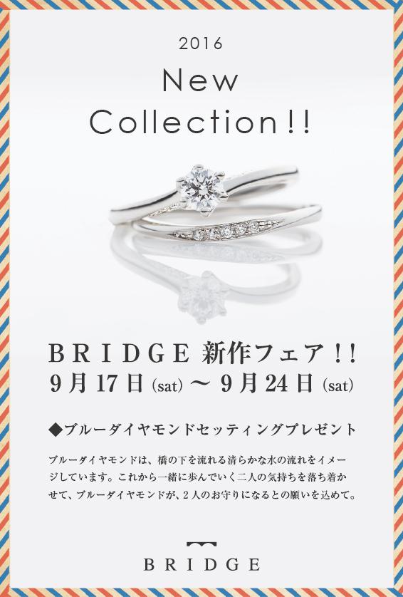 BRIDGE 新作フェア!!