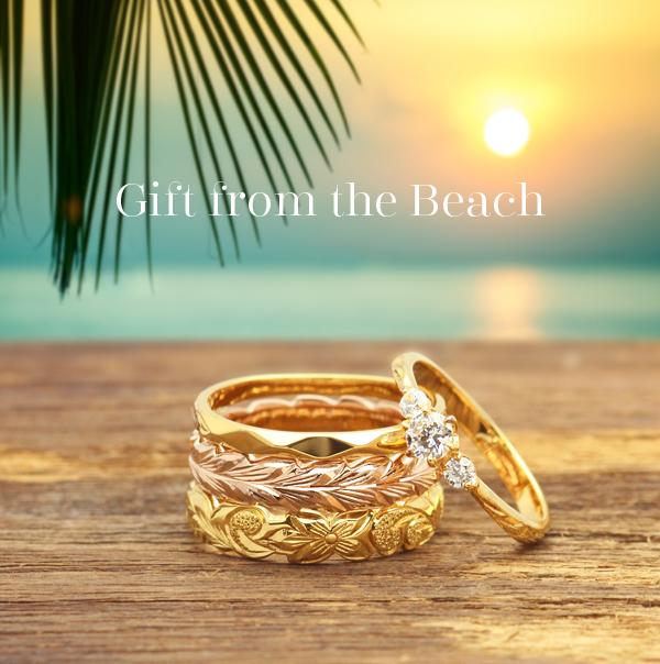新潟結婚指輪婚約指輪BROOCHダイヤモンドハワイアンジュエリープラチナゴールド