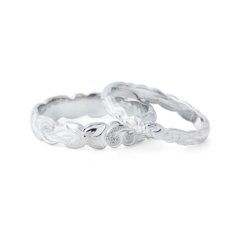 新潟BROOCH結婚指輪ハワイアンジュエリー