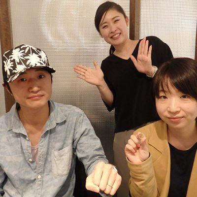 新潟結婚指輪杢目金屋恋桜BROOCHブローチ