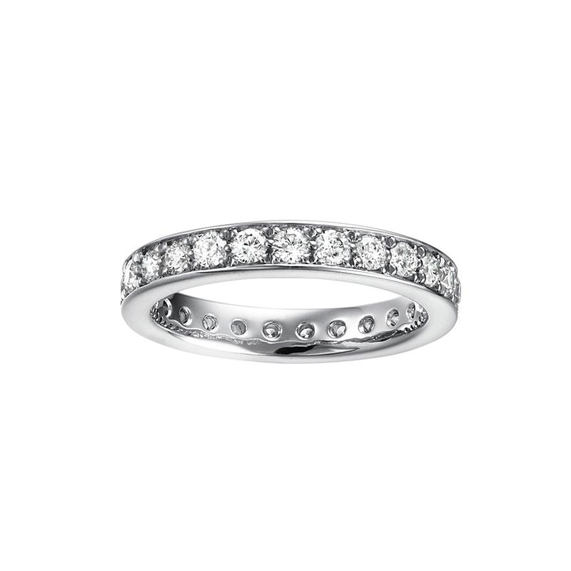 新潟マリッジリングエタニティリング婚約指輪結婚指輪ダイヤモンドスイスメイドゴールドスミス鍛造フラージャコー
