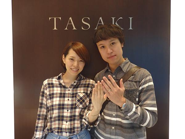 TASAKIのインフィニタは<br>形がすごくキレイ!!