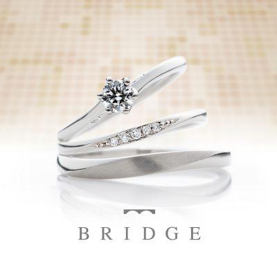 """BRIDGE「未来への船出」には、""""今ここにいる自分を信じて輝かしい未来へ""""というストーリーがついています。 荷物と一緒に人の思いも届けていく船。2人の祝福された船出が輝かしい未来へと向かって行くようにと願いが込められています。"""