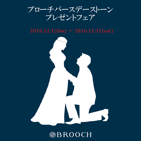 BROOCH バースデーストーンプレゼントフェア