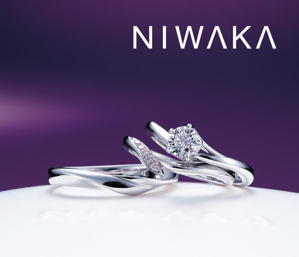 和風結婚指輪をNIWAKAで