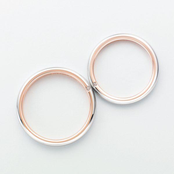 新潟結婚指輪人気ブランド鍛造サムシングブルーおすすめプラチナリング