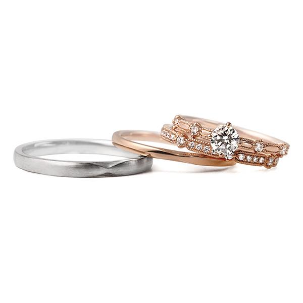 新潟 結婚指輪 婚約指輪 マリッジリング エンゲージリング LUCIE ルシエ BROOCH ブローチ