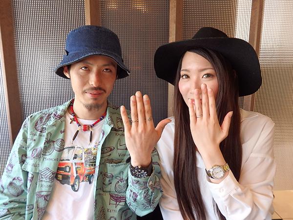 結婚指輪はぜひBROOCHへ!!