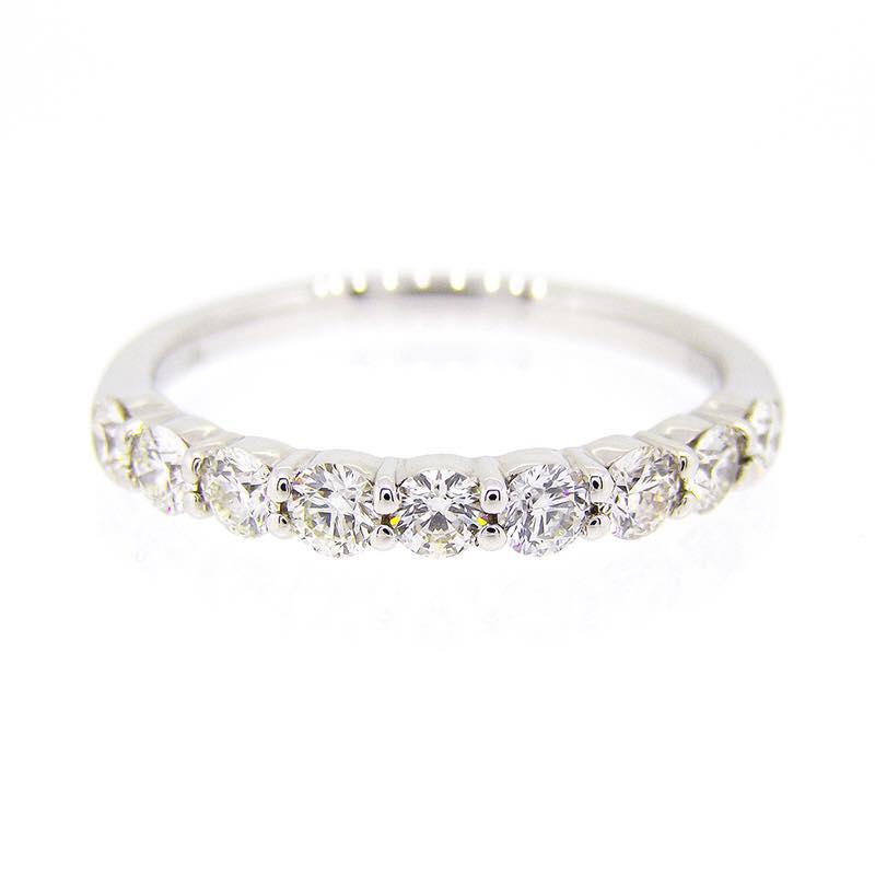 新潟 結婚 結婚指輪 婚約指輪 エタニティーリング カワイイ オシャレ ダイヤモンド