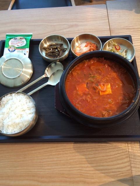 新潟の結婚指輪BROOCHスタッフ広野の香港旅 韓国料理