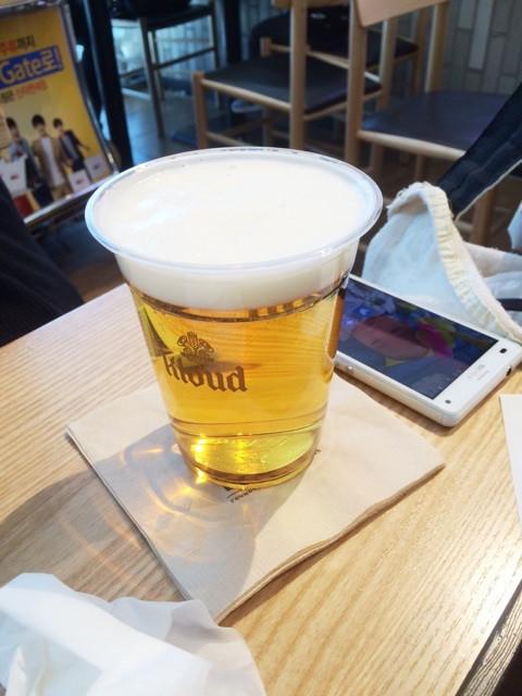 新潟の結婚指輪BROOCHスタッフ広野の香港旅 ビール