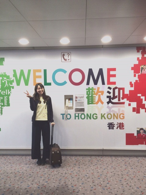 新潟の結婚指輪BROOCHスタッフ広野の香港旅 香港到着
