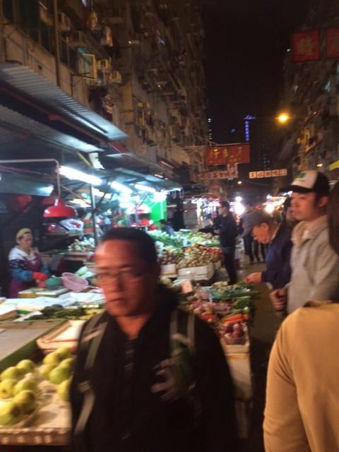 香港といえばやっぱりナイトマーケット