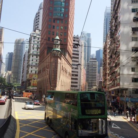 香港島には、トラム