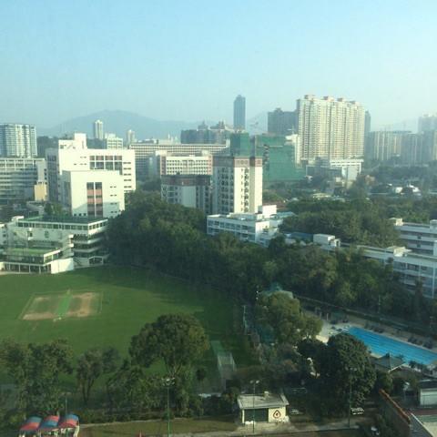 このホテルから見える景色