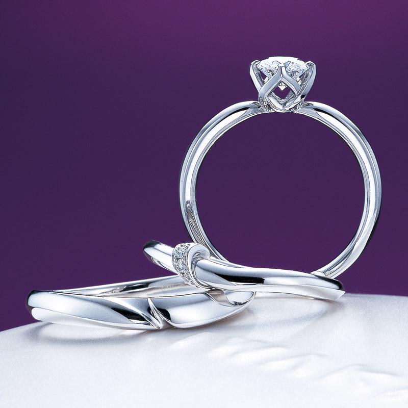 新潟で結婚するならシンプル王道の俄(にわか)NIWAKAの指輪が人気