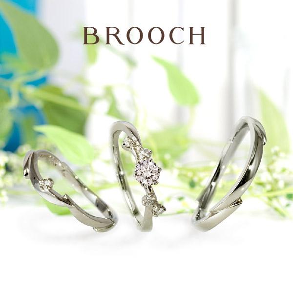 女性の憧れ花モチーフの可愛い結婚指輪を新潟BROOCHで探すなら花冠モチーフLAPAGEのBady`sbreath