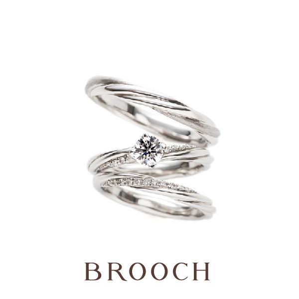新潟で人気の可愛い人と被らない結婚指輪婚約指輪ならブリッジBRIDGEの永遠の絆