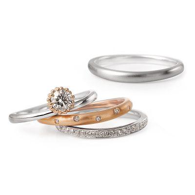 新潟の大人可愛い指輪ならLUCIE(ルシエ)の結婚指輪マリッジリング