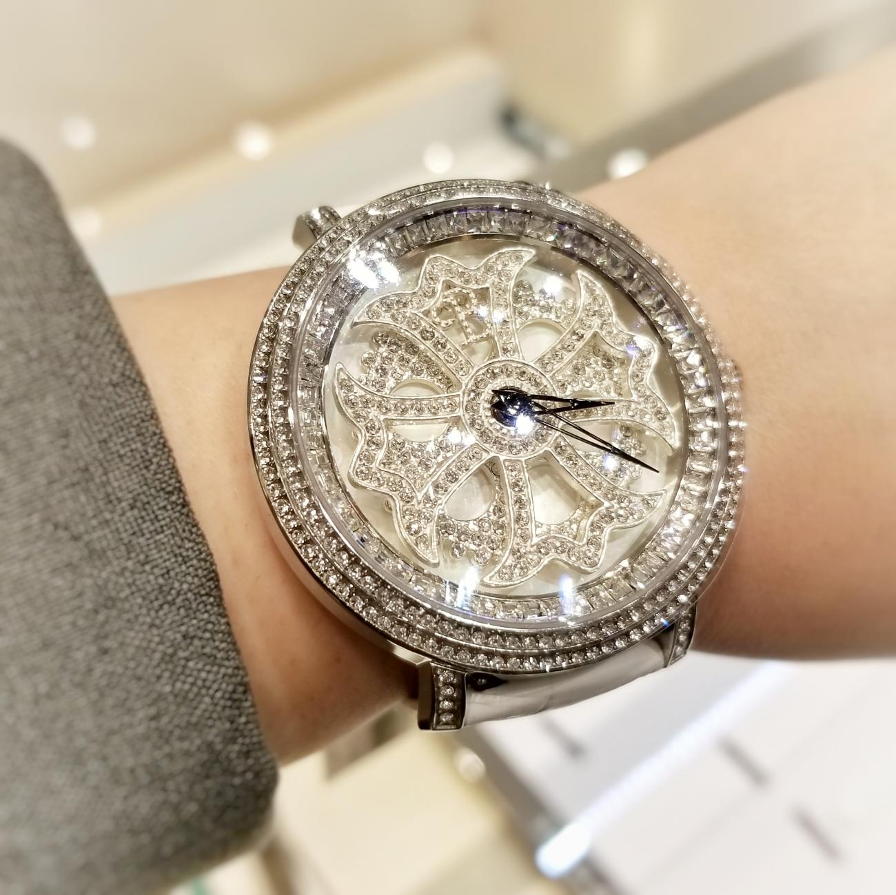 圭能人御用達!人気!パーティーシーズンにおすすめブリラミコBRILLAMICO腕時計ペアウォッチきらきらくるくるぐるぐる時計