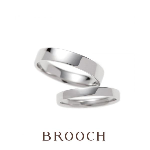シンプルで使いやすい結婚指輪はBROOCHのBRIDGE素直な心