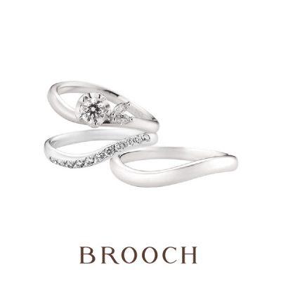 新潟で緩やかな可愛いデザインの結婚指輪・婚約指輪を探すならブローチのつむぎが人気でおすすめ